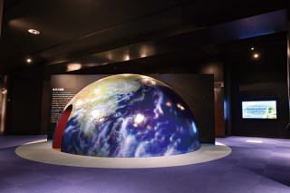 第4展示室「地球 –つながり–」