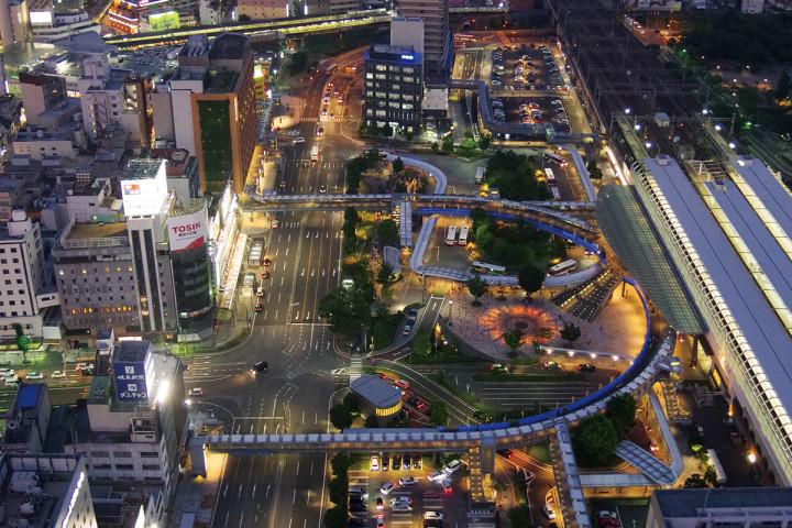 岐阜シティ・タワー43 43階展望室