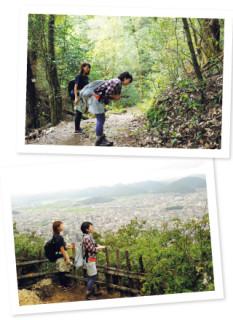 05金華山のてっぺんから岐阜市を見渡すイメージ01