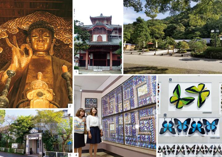 岐阜公園界隈でまちの歴史と文化に触れるイメージ